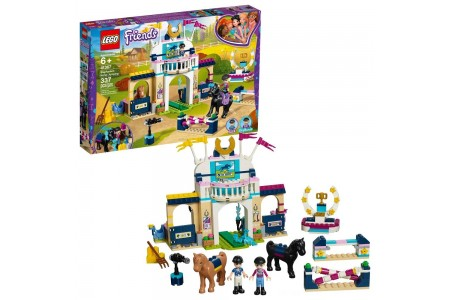 LEGO Friends Stephanie's Horse Jumping 41367 Free Shipping