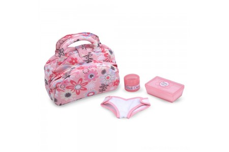 Melissa & Doug Mine to Love Doll Diaper Changing Set With Bag, Wipes, Accessories (7pc) Free Shipping