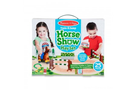 Black Friday 2020 Sale Melissa & Doug Horse Show Equestrian Playset 25pc Free Shipping