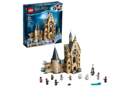 Black Friday 2020 Sale LEGO Harry Potter and The Goblet of Fire Hogwarts Clock Tower Castle Playset with Minifigures 75948 Free Shipping
