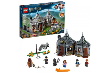 Black Friday 2020 Sale LEGO Harry Potter Hagrid's Hut: Buckbeak's Rescue Building Set with Hippogriff Figure 75947 Free Shipping