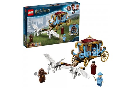 LEGO Harry Potter Beauxbatons' Carriage: Arrival at Hogwarts 75958 Toy Carriage Building Set 430pc Free Shipping