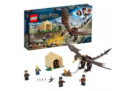 LEGO Harry Potter Hungarian Horntail Triwizard Challenge 75946 Toy Dragon Building Kit 265pc Free Shipping