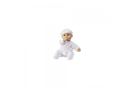 Melissa & Doug Mine to Love Mariana 12-Inch Poseable Baby Doll With Romper and Hat Free Shipping