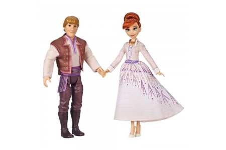 Black Friday 2020 Sale Disney Frozen 2 Anna and Kristoff Fashion Dolls 2pk Free Shipping