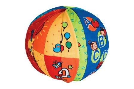 Melissa & Doug K's Kids 2-in-1 Talking Ball Educational Toy - ABCs and Counting 1-10 Free Shipping