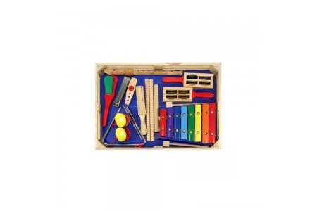 Black Friday 2020 Sale Melissa & Doug Deluxe Band Set With Wooden Musical Instruments and Storage Case Free Shipping