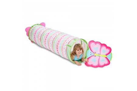Melissa & Doug Sunny Patch Cutie Pie Butterfly Crawl-Through Tunnel (almost 5 feet long) Free Shipping