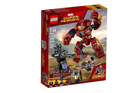 LEGO Super Heroes Marvel Avengers Movie The Hulkbuster Smash-Up 76104 Free Shipping