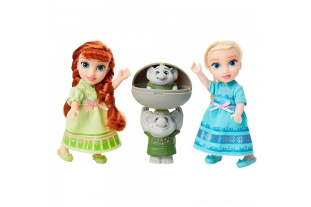 Disney Frozen 2 Petite Surprise Trolls Gift Set Free Shipping