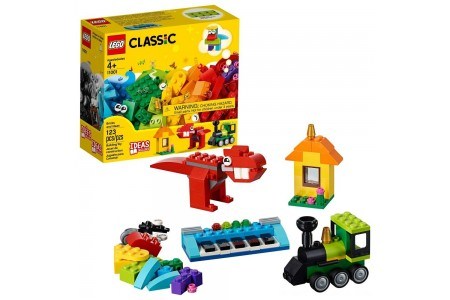 LEGO Classic Bricks and Ideas 11001 Free Shipping