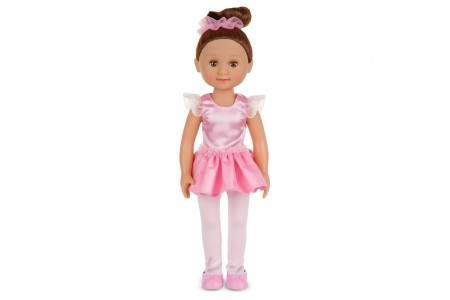 Melissa & Doug Victoria 14-Inch Poseable Ballerina Doll With Leotard and Tutu Free Shipping