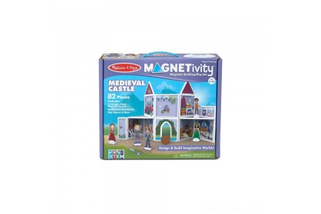 Melissa & Doug Magnetivity - Medieval Castle Free Shipping