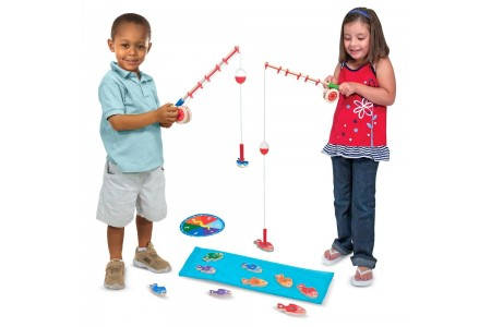Melissa & Doug Catch & Count Fishing Game Free Shipping