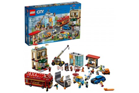 LEGO City Town Capital City 60200 Free Shipping