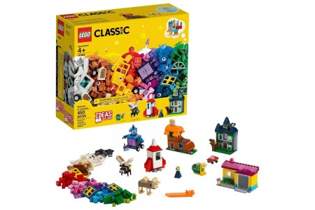 Black Friday 2020 Sale LEGO Classic Windows of Creativity 11004 Building Kit with Toy Doors for Creative Play 450pc Free Shipping