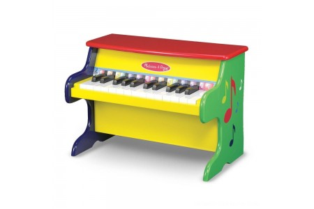 Melissa & Doug Learn-To-Play Piano With 25 Keys and Color-Coded Songbook Free Shipping