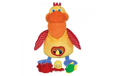 Melissa & Doug K's Kids Hungry Pelican Soft Baby Educational Toy Free Shipping