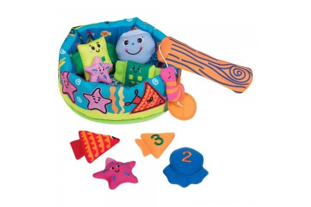 Melissa & Doug K's Kids Fish and ct Learning Game With 8 Numbered Fish to Catch and Release Free Shipping