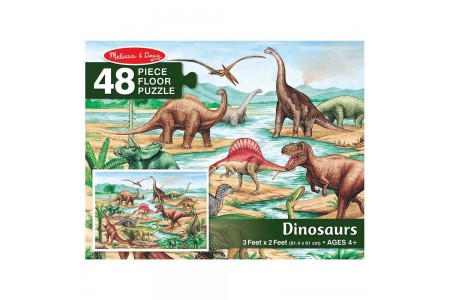 Black Friday 2020 Sale Melissa And Doug Dinosaurs Jumbo Floor Puzzle 48pc Free Shipping