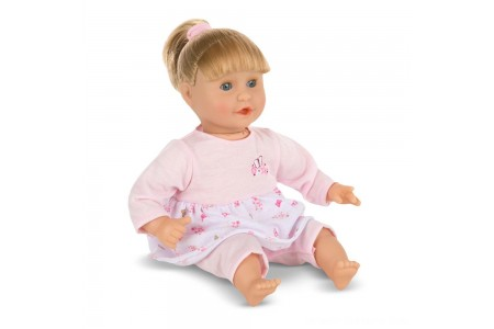 Melissa & Doug Mine to Love Natalie 12-Inch Soft Body Baby Doll With Hair and Outfit Free Shipping