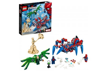 LEGO Super Heroes Marvel Spider-Man's Spider Crawler 76114 Free Shipping