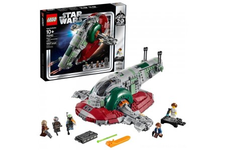 Black Friday 2020 Sale LEGO Star Wars Slave l – 20th Anniversary Collector Edition Collectible Model 75243 Building Kit Free Shipping