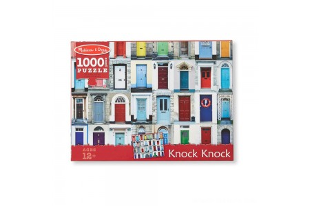 Melissa And Doug Knock Knock Doorways Puzzle 1000pc Free Shipping