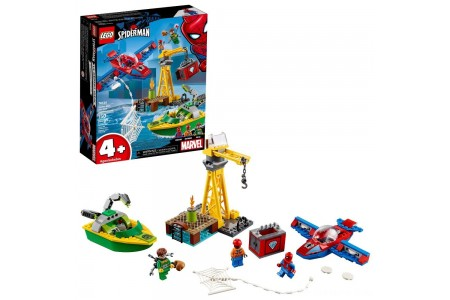 LEGO Super Heroes Marvel Spider-Man: doc Ock Diamond Heist 76134 Free Shipping