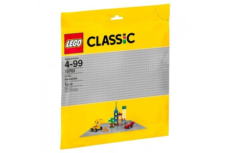 LEGO Classic Gray Baseplate 10701 Free Shipping