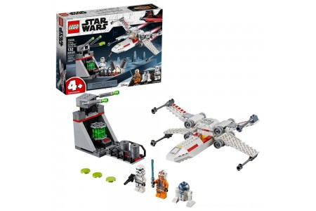 Black Friday 2020 Sale LEGO Star Wars X-Wing Starfighter Trench Run 75235 Free Shipping