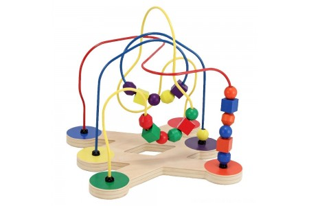 Black Friday 2020 Sale Melissa & Doug Classic Bead Maze - Wooden Educational Toy Free Shipping