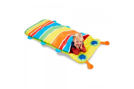 Melissa & Doug Sunny Patch Giddy Buggy Sleeping Bag With Matching Storage Bag Free Shipping