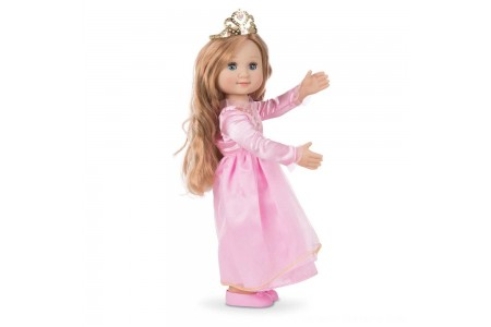 Black Friday 2020 Sale Melissa & Doug Celeste 14-Inch Poseable Princess Doll With Pink Gown and Tiara Free Shipping