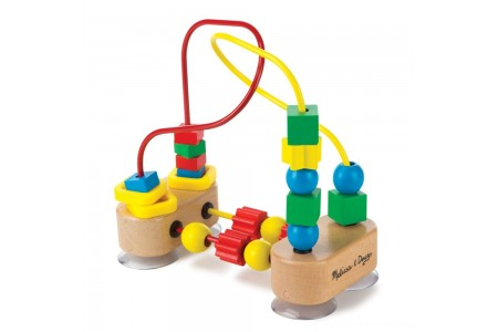 Melissa & Doug First Bead Maze - Wooden Educational Toy Free Shipping