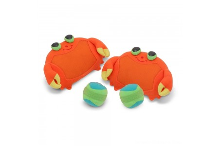 Black Friday 2020 Sale Melissa & Doug Sunny Patch Clicker Crab Toss and Grip Catching Game With 2 Balls Free Shipping