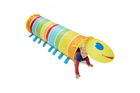 Melissa & Doug Sunny Patch Giddy Buggy Crawl-Through Tunnel (almost 5 feet long) Free Shipping