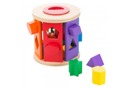 Black Friday 2020 Sale Melissa & Doug Match and Roll Shape Sorter - Classic Wooden Toy Free Shipping