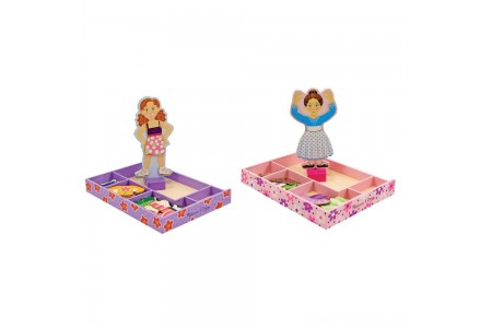 Melissa & Doug Magnetic Dress Up Sets Free Shipping