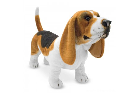 Black Friday 2020 Sale Melissa & Doug Giant Basset Hound Free Shipping