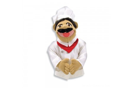 Black Friday 2020 Sale Melissa & Doug Chef Puppet With Detachable Wooden Rod Free Shipping