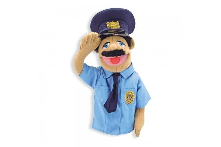 Black Friday 2020 Sale Melissa & Doug Police Officer Puppet With Detachable Wooden Rod Free Shipping