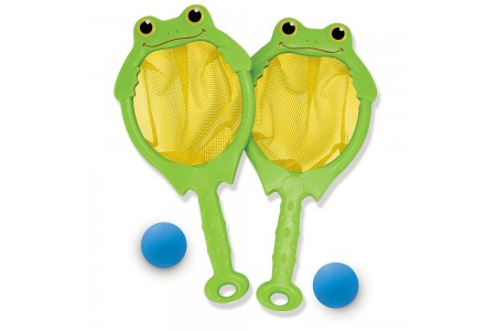 Black Friday 2020 Sale Melissa & Doug Sunny Patch Froggy Toss and Catch Net Game With 2 Balls Free Shipping