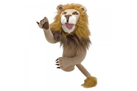 Black Friday 2020 Sale Melissa & Doug Rory the Lion Puppet With Detachable Wooden Rod for Animated Gestures Free Shipping