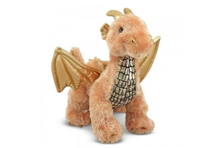 Melissa & Doug Luster Dragon Stuffed Animal Free Shipping