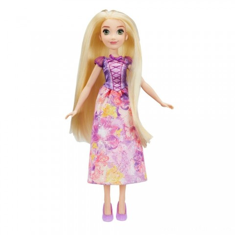 Disney Princess Royal Shimmer - Rapunzel Doll Free Shipping