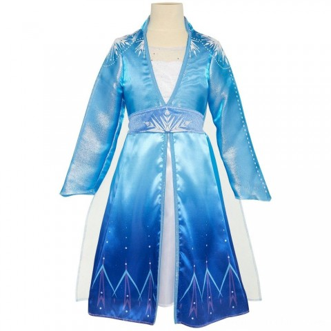 Disney Frozen 2 Elsa Travel Dress, Size: Small, MultiColored Free Shipping