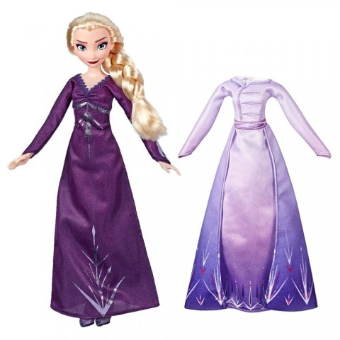 Disney Frozen 2 Arendelle Fashions Elsa Fashion Doll With 2 Outfits Free Shipping