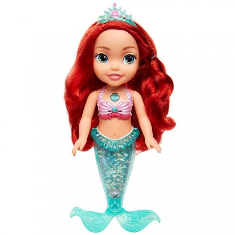 Disney Princess Sing & Sparkle Ariel Bath Doll Free Shipping