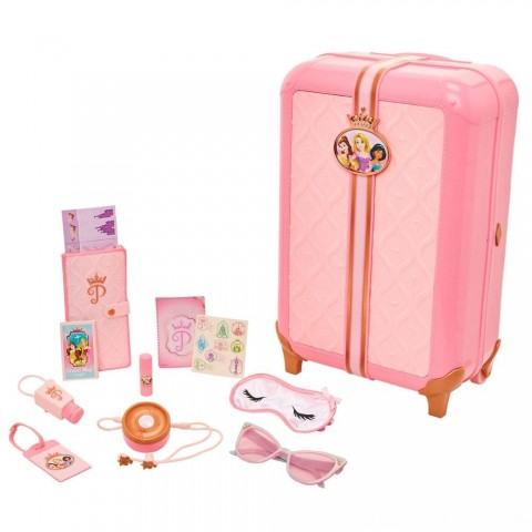 Disney Princess Style Collection Play Suitcase Travel Set Free Shipping